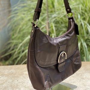 Coach Soho leather flap bag